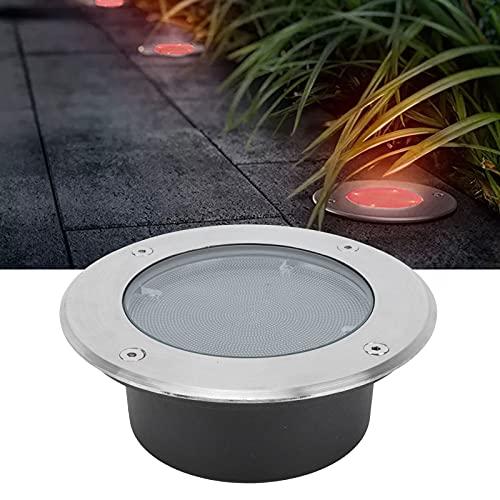 BOLORAMO Luces solares de Suelo, Que Funcionan automáticamente Decoración de jardín Fácil instalación para iluminar el pavimento