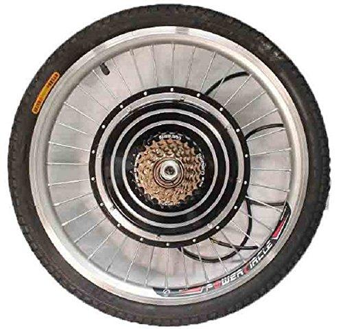 China Electric Bicycle 36/48V 350W 31er Rear Wheel Driving Brushless Gearless Hub Motor