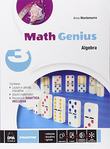 Math genius. Aritmetica-Geometria-Palestra delle competenze. Per la Scuola media. Con e-book. Con espansione online (Vol. 3)