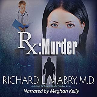 Rx Murder audiobook cover art
