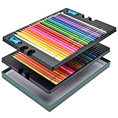 Canitu Colored Pencils Set,48 Professional Colo...