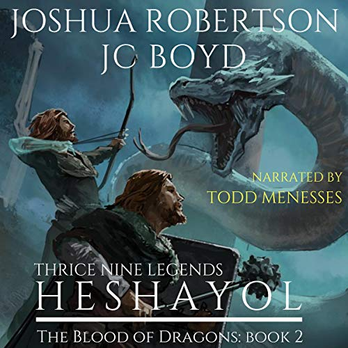 Heshayol Audiobook By Joshua Robertson, JC Boyd cover art