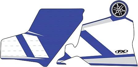 Yamaha Factory Effex 06-38206 Upper Fork Shield Graphic Kit Blue