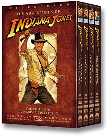 The Adventures of Indiana Jones: (Raiders of the Lost Ark / The Temple of Doom / The Last Crusade/Bonus Material)