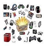 NBCV Caja Misteriosa,Caja Sorpresa,Mystery Box Electrónico,Tener La Oportunidad De Abrir, Varios Productos Electrónicos, Teléfonos Móviles, Auriculares, Cosas Posibles (a B