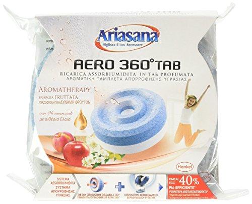 Ariasana Ricarica assorbiumidita in Tab Profumata Aero° 360, 450 gr, 1 pezzo