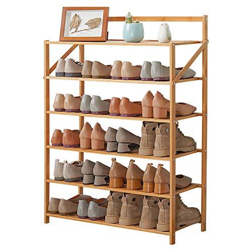 AIMCAE Zapateros Plegables, Zapateros Independientes, Zapatero apilable, Organizador de Almacenamiento de 6 Niveles, Soporte para Zapatos para la Sala de Estar del Dormitorio de la Oficina en casa