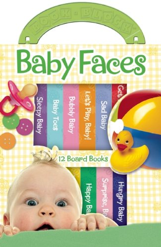 Baby Faces (12 Board Book Block) by Editors of Publications International LTD (2011-10-19)