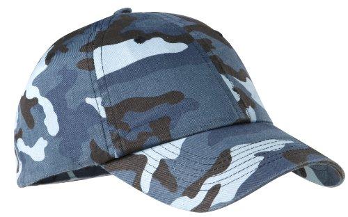 Port Authority® Camouflage Cap. C851 Navy Camo OSFA