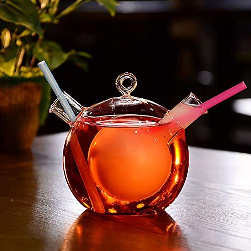 Krrinnhy Vasos de Whisky, Vasos de Whisky de Doble Pared, Vidrio Súper Transparente sin Plomo, Jarra de Cristal Whisky, Cóctel, Bourbon, Escocés,01