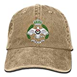 MEILIJISHI Gorra de béisbol para Hombres y Mujeres Royal Jordanian Air Force Sombrero Ajustable Lavado Vintage de Vaquero