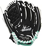 Rawlings Fastpitch Series Softball Glove, 11 inch, Basket Web, Right Hand Throw