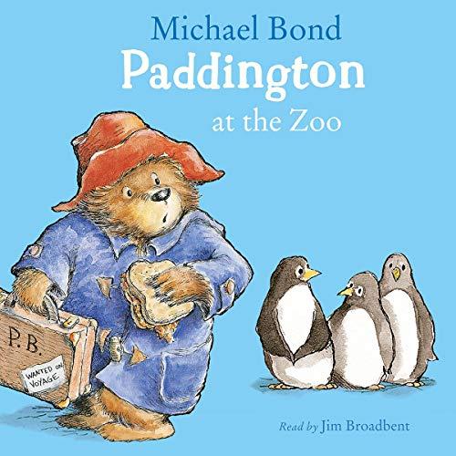 Paddington at the Zoo cover art