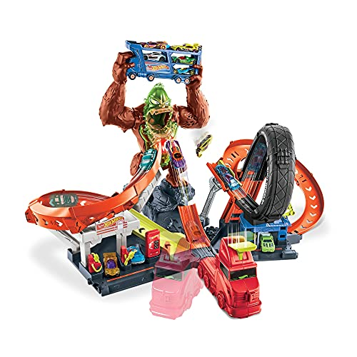 Hot Wheels Toxic Gorilla Slam Playset