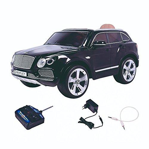 Mini Carro Elétrico Infantil Bentley Bentayga Preto 12v