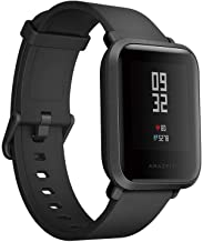 Xiaomi Amazfit Bip with Heart Rate Monitor Water Resistant Fitness Tracker For iOS & Android -Black