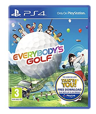 Everybody's Golf PS4 New