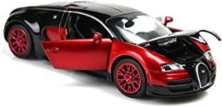 ZHFUYS 1:32 Bugatti Veyron diecast car ,Alloy Model Cars Toy Cars for 2 to 7 Years Old (red)