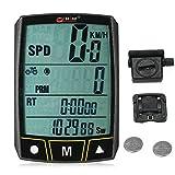 Lixada Bogeer Wireless/Wired Computer da Bicicletta Ciclismo Bike Cronometro Sensore Impermeabile con Display LCD Contachilometri Contachilometri Retroilluminazione a LED
