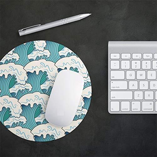 Gaming Muis Mat Ronde Muis Pads Office Family Bureau Pc Laptop Kleine Muis Pad Game Mousepad Rubber Mat Pad Cup Matten, 20x0.3cm