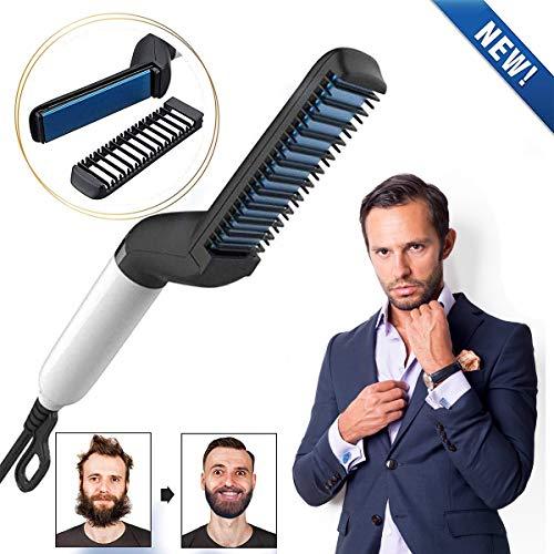 Charminer Plancha de pelo barba flequillo para Los hombres Peine alisa