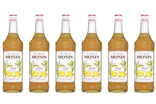 Monin Sirup Mango, 1,0L 6er Pack