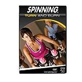 SPINNING® Fitness DVD Turn and Burn - Bicicletas estáticas Fitness (Interior),...