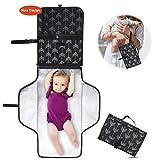 Baby Diaper Changing Pad, Portable Waterproof Diaper Changing Mat, Folding Diaper Changing Station