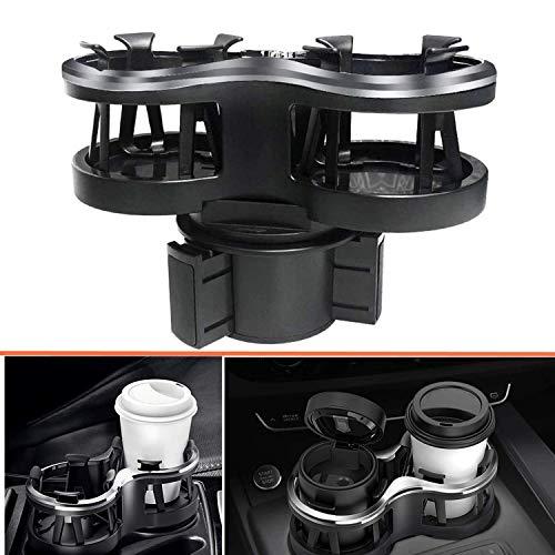 Auto Bekerhouder Drinkhouder 2 in 1 Multifunctionele Verstelbare Base Cup Mount Extender voor Auto Drink Kan Koffiefles Stand