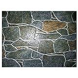 Langard-Texture-Stamp-Mat-Skin-Concrete-Cement-Stamping - Alfombrilla de poliuretano para estampado de piel con estampado, diseño de pizarra