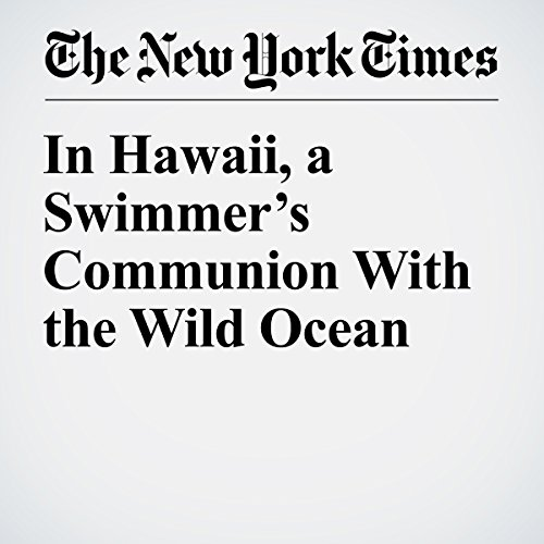 In Hawaii, a Swimmer's Communion With the Wild Ocean copertina