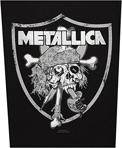 Metallica - Parche para espalda con motivo de calavera