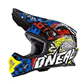 O'Neal Backflip Rl2 Youth EVO Wild - Casco para Niños, Multicolor, M (48-50cm)