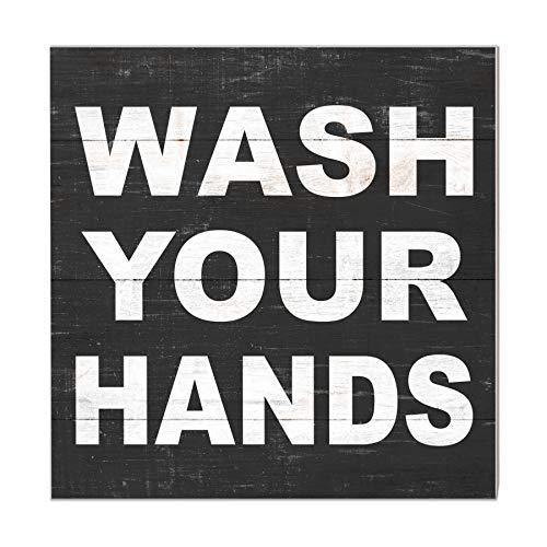 Kindred Hearts Händewaschen, Mehrfarbig, 25,4 x 25,4 cm