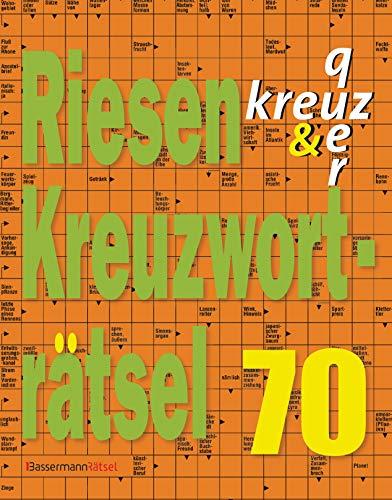 Riesen-Kreuzworträtsel 70