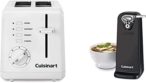 Toasters Kitchen & Dining Cuisinart Plastic 2 Slice Toaster Blac ...