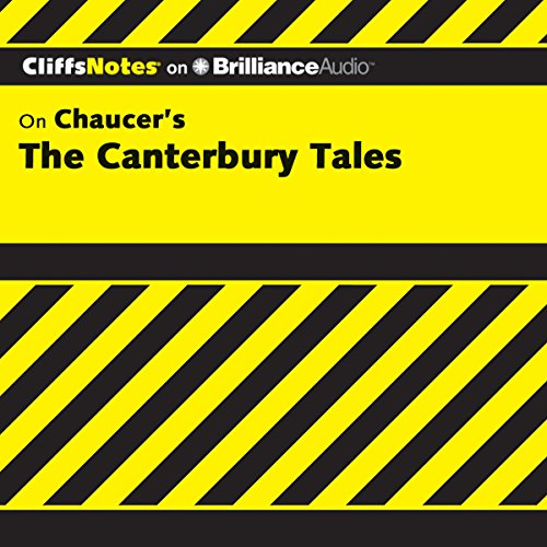 The Canterbury Tales: CliffsNotes cover art