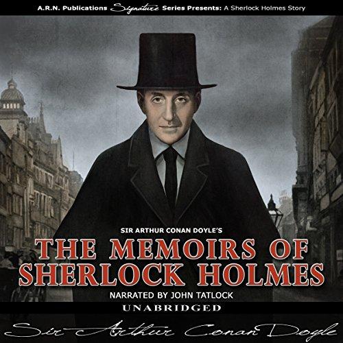 The Memoirs of Sherlock Holmes audiobook cover art