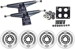TGM Skateboards KRYPTONICS Classic Truck Wheel Pack 80mm Clear Core 6.0 Black