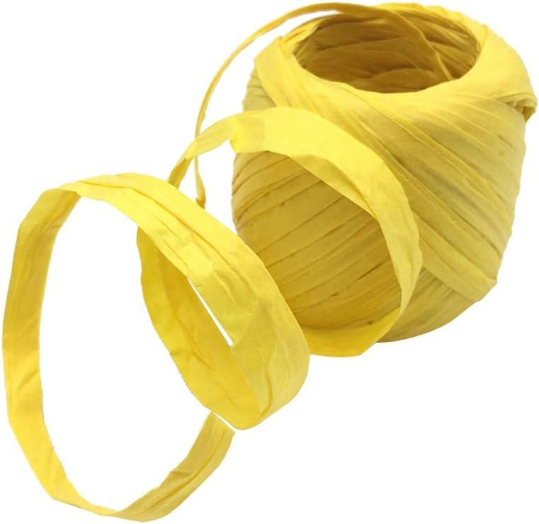 oshhni 20m San Diego Mall Roll Superlatite Raffia Paper String Gift Scrapboo Ribbon Package