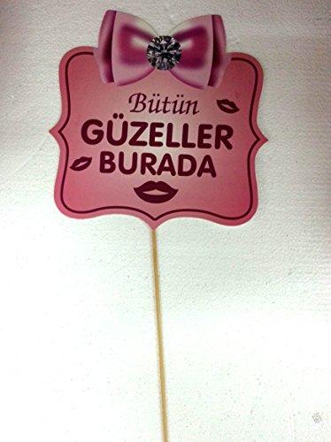 Konusma Balonu, Bekarliga Veda, Kina, Dügün, Gelin Hochzeit Junggesellenabschied