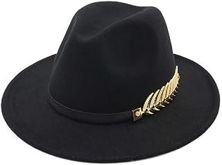 Vim Tree Unisex Felt Panama Hat Short Brim Crushable Fedora Hat