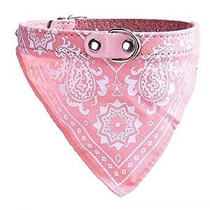 Pets First Collier bandana réglable pour chiens, chats et autres animaux, dans 4tailles et 6couleurs