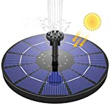 AISITIN Fuente Solar Bomba, 3.5W Fuente de Jardín Solar Panel Solar...