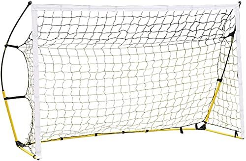 HSWYJJPFB Portería de Fútbol Red de Fútbol para Niños Portería de fútbol Grande y Simple portátil al Aire Libre Porterías de fútbol Portería de fútbol para niños Soporte de Tubo de Acero Estable Equ