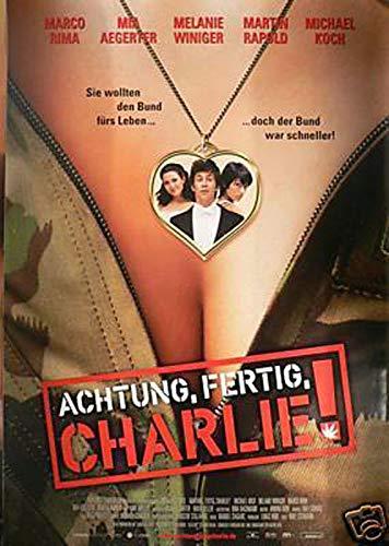 Achtung, fertig, Charlie! Filmplakat A1 84x60cm gerollt