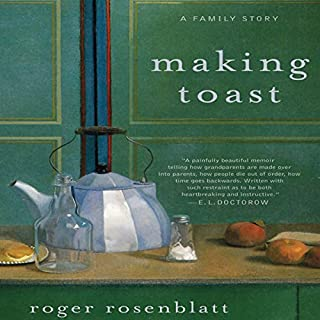 Making Toast audiobook cover art