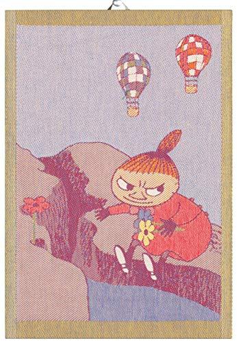 Ekelund Mumin Little My & Blumen Geschirrtuch (Öko-Tex) 35x50 cm Mehrfarbig