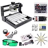 Macchina per Incisione Laser CNC 3018 Pro 5500mw, Yofuly 2 in 1 Versione di Aggiornamento Controllo GRBL Fresatrice PCB a 3 assi con controller offline, ER11 e Prolunga da 5mm