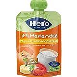 Hero - Bolsita De Fruta Nanos Merienda Yogur Plátano Fresa 100 gr
